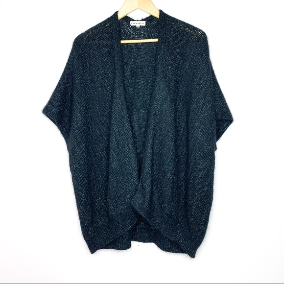 Aritzia Community Mohair and Alpaca Sweater Black